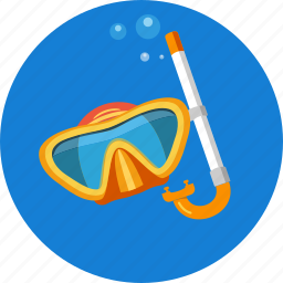 diving, mask, scuba, sea, snorkel, sportswear, underwater icon