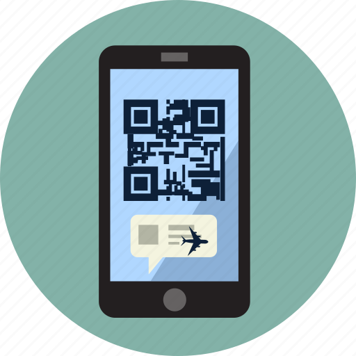 bar, barcode, cellphone, device, online, payment, qr code icon