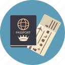 id, travel, passport, ticket, boarding, airline, documents