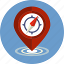 compass, direction, gps, map, navigation, pointer, road