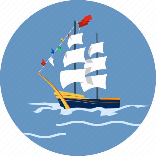 boat, nautical, sea, ship, transport, travel, yacht icon