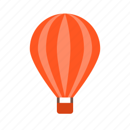 air, balloon, sky, transport, transportation, travel, vacation icon