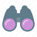 binocular, binoculars, find, search, view icon