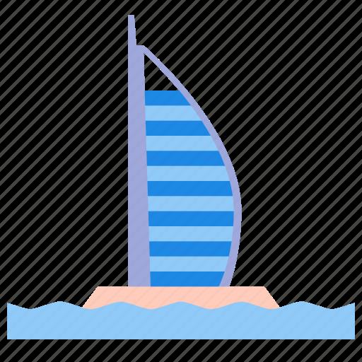 al, arab, burj icon