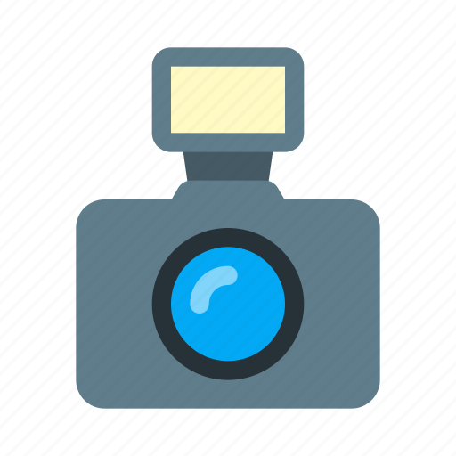 camera, flash, photo, photography, picture, video icon