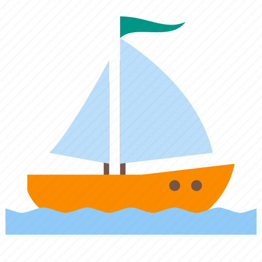 boat, cruise, sail, sailing, sea, ship, yacht icon