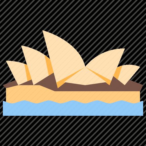 australia, house, opera, sydney icon