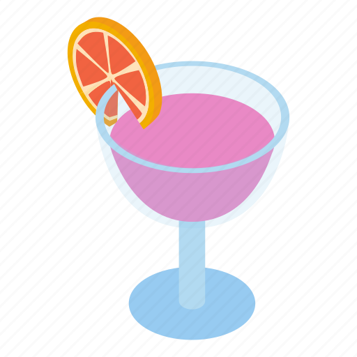 Club, cocktail, coctail, cold, decoration, isometric, liquid icon - Download on Iconfinder