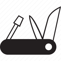 knife, multi tool, swiss army knife, tool icon