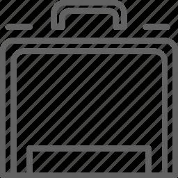 briefcase, deposit, safe, travel icon