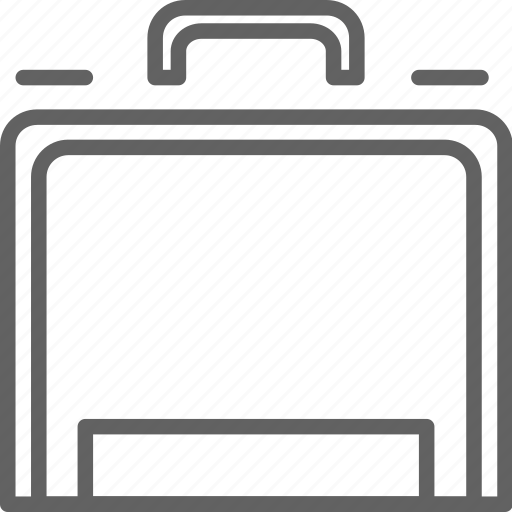 briefcase, deposit, safe, travel icon