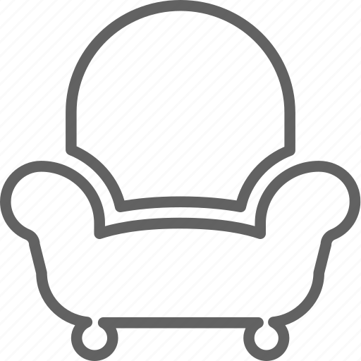 furniture, guest, home, household, sofa icon
