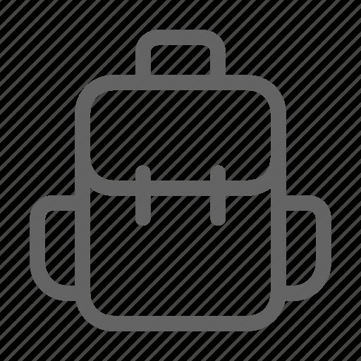 Backpack, bag, travel, hiking icon - Download on Iconfinder