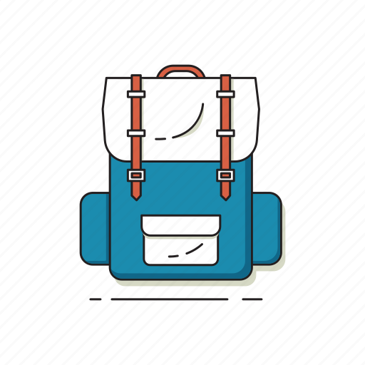 backpack, backpacker, hipster, tourist, travel, traveler icon