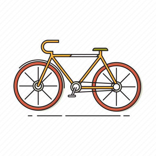 bicycle, bicycling, bike, outdoor, recreation, travel icon