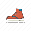 adventure, outdoor, shoes, travel, traveler, trekking icon