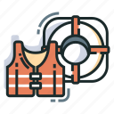 help, lifebuoy, lifeguard, lifesaver, rescue, safety, support icon