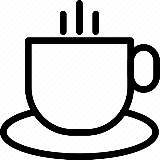 coffee, coffee cup, cup, hot coffee, hot tea, tea, tea cup icon