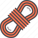 climbing, rope icon