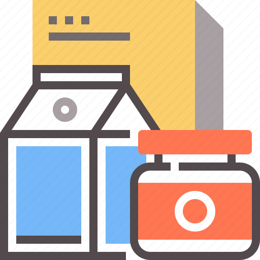 food, grocery, products icon