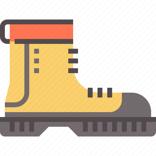 boots, hiking icon