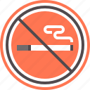 no, sign, smoking icon