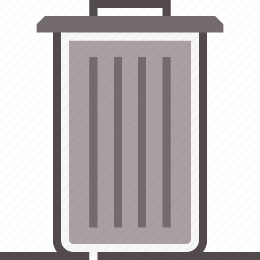 Bin, dustbin, garbage, waste, wastebin icon - Download on Iconfinder