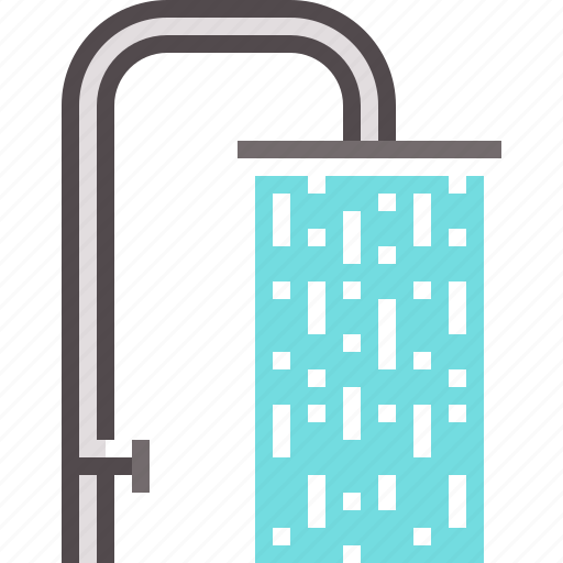 shower, water icon