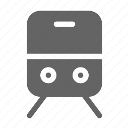 railroad, railway, train icon