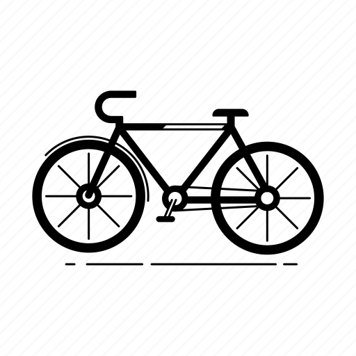bicycle, bicycling, biking, leisure, recreation, travel icon