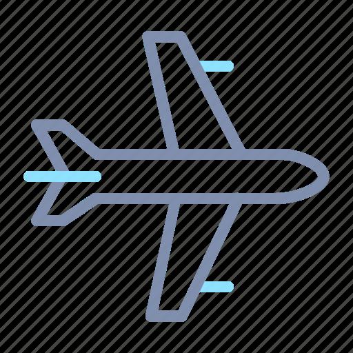 airplane, flight, plane, transport, transportation, travel, vacation icon