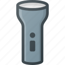 camping, flashlight, lamp, light, tourism, travel icon