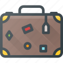 bag, case, suitcase, tourism, travel icon