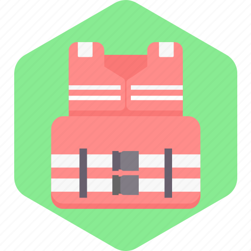 Accessories, clothes, fashion, life jacket, style, wear icon - Download on Iconfinder