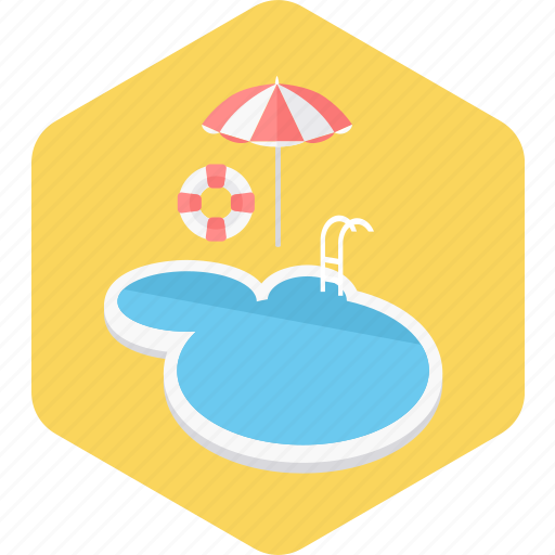 beach, pool, sea, summer, swimming, water icon