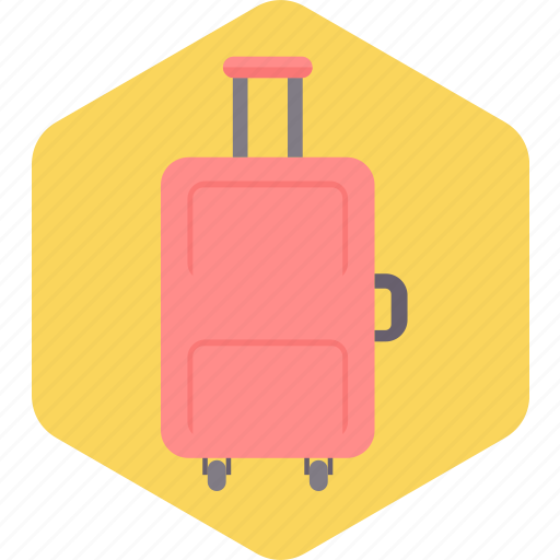 bag, briefcase, luggage, suitcase, tourism, travel icon