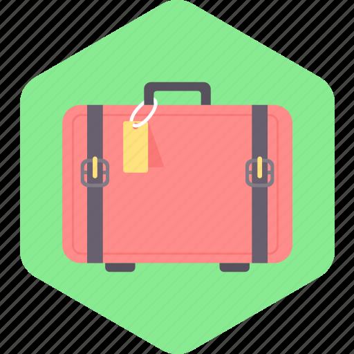 bag, briefcase, clothes, luggage, suitcase, travel icon