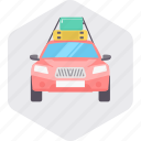 car, taxi, tourism, transport, travel, vehicle icon