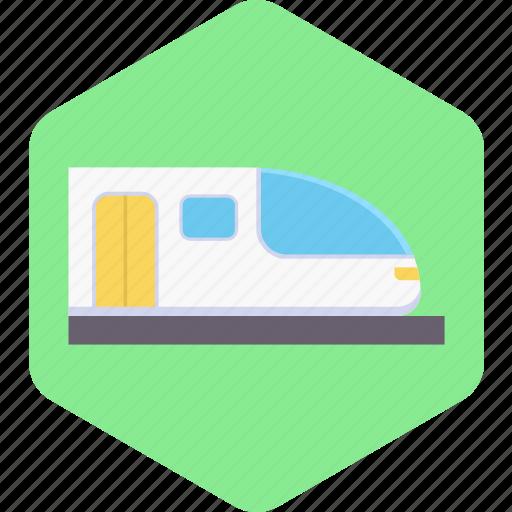 Metro, railway, train, transport, transportation, travel icon - Download on Iconfinder