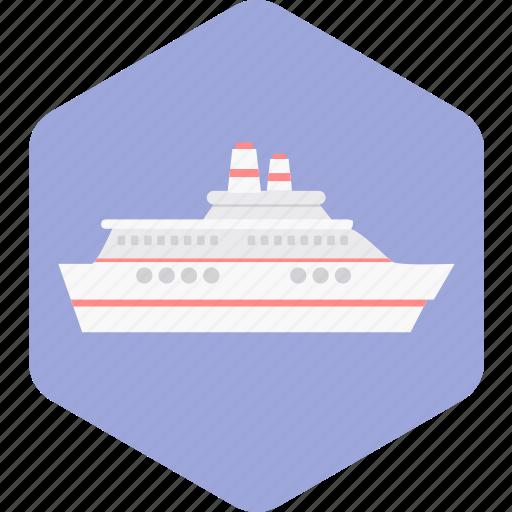 beach, boat, ocean, sea, ship, transport, travel icon