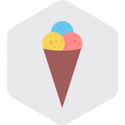 Cone, cupcake, dessert, ice cream, sweet, sweets icon - Download on Iconfinder
