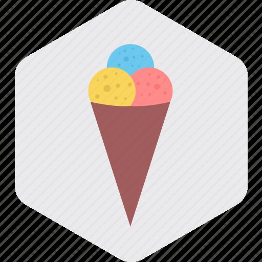 cone, cupcake, dessert, ice cream, sweet, sweets icon