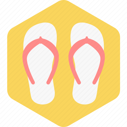footwear, slippers, summer, tourism, travel, vacation icon