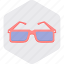 eyeglasses, fashion, glasses, shades, spectacles, sunglasses icon