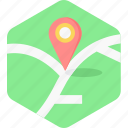 country, gps, location, map, marker, place icon