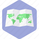direction, location, map, navigation, pointer, world icon