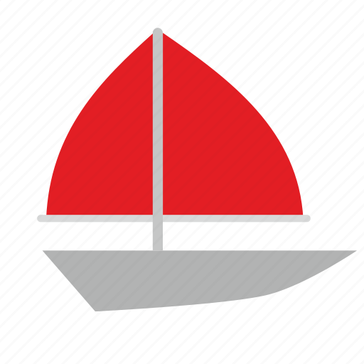 boat, sea, ship, travel, yachting icon