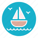 boat, luxury, ocean, sea, travel, water, yacht icon