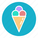 cream, dessert, food, ice, icecream, summer, sweet icon