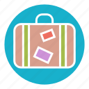 bag, journey, luggage, suitcase, tourism, travel, trip icon